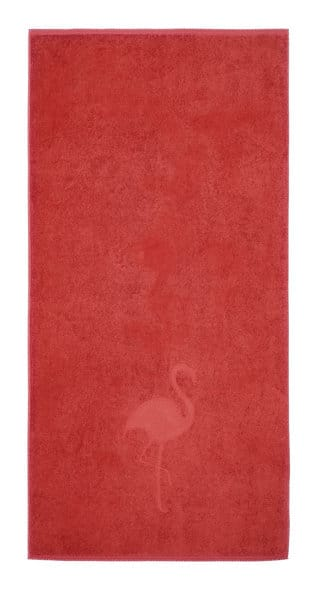 flamingo drap de douche rose maison lili serviette flamant rose